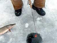 Лунка во льду
