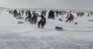 на зимнюю рыбалку с эхолотом