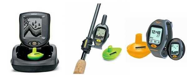 Классификация эхолотов для рыбалки с берега