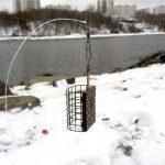 Оснастка для фидерной ловли на течении