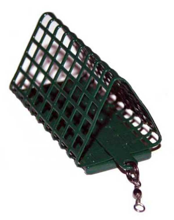 Треугольная кормушка для ловли на течении