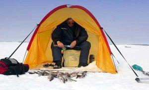 Выбор палатки для рыбалки в зимнюю пору