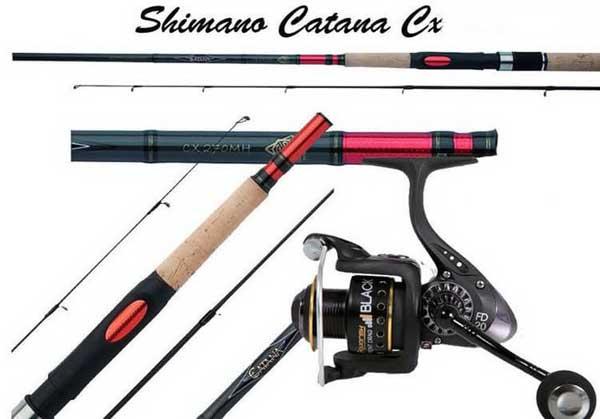 Телескопический спиннинг Shimano Catana Telespin