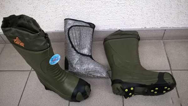 Разнообразие зимних сапогов для рыбалки