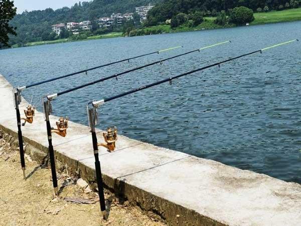 Ловля рыбы на удочку FisherGoMan